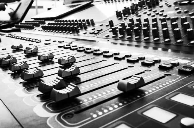 Photo of sound board